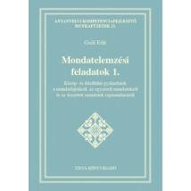 MONDATELEMZÉSI FELADATOK 1.