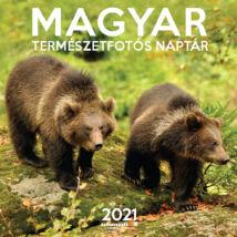 MAGYAR TERMÉSZETFOTÓS NAPTÁR 2021 (29X29CM)
