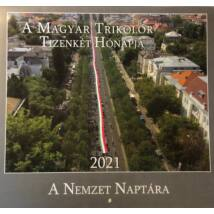 A MAGYAR TRIKOLÓR 2021 NAPTÁR
