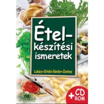 ÉTELKÉSZÍTÉSI ISMERETEK +CD