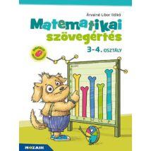 MATEMATIKAI SZÖVEGÉRTÉS 3-4. OSZTÁLY - MUNKAFÜZET