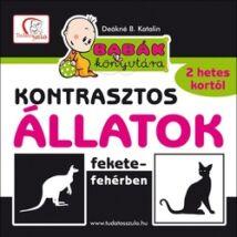 KONTRASZTOS ÁLLATOK FEKETE-FEHÉRBEN