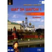 SAG ZA SAGOM 1. OROSZ NYELVKÖNYV + CD NT-56365/NAT