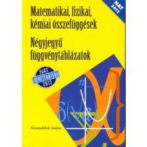 NÉGYJEGYŰ FÜGGVÉNYTÁBLÁZATOK (SÁRGA) NT-15129/NAT