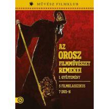 AZ OROSZ FILMMŰVÉSZET REMEKEI I. DVD