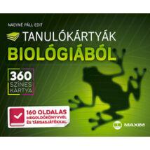 TANULÓKÁRTYÁK BIOLÓGIÁBÓL