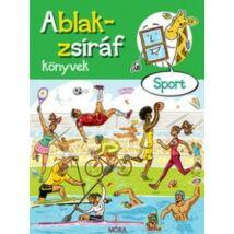 ABLAK-ZSIRÁF KÖNYVEK - SPORT