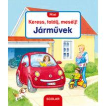 MINI KERESS, TALÁLJ, MESÉLJ! - JÁRMŰVEK