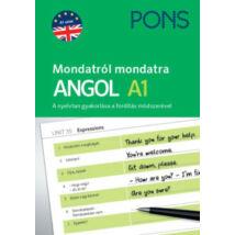 PONS - MONDATRÓL MONDATRA - ANGOL A1