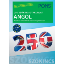 250 SZÓKINCSGYAKORLAT ANGOL - PONS