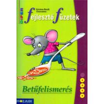 DIFER FEJLESZTŐ FÜZETEK - BETŰFELISMERÉS