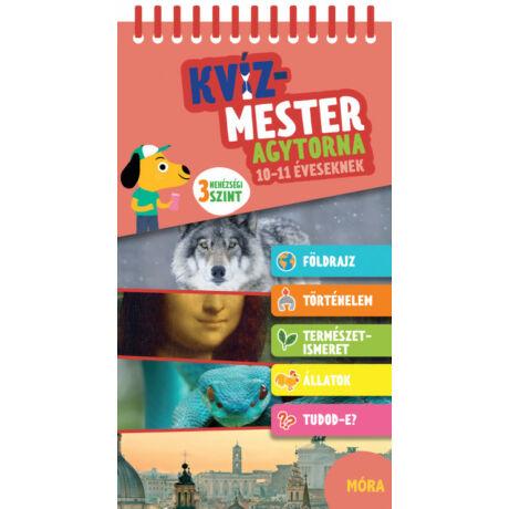KVÍZMESTER - AGYTORNA 10-11 ÉVESEKNEK