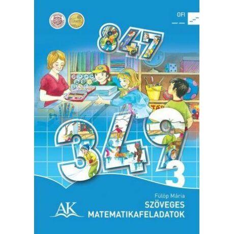 SZÖVEGES MATEMATIKAF 3. OSZTÁLY AP-030814