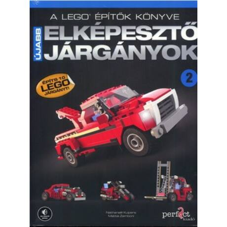 A LEGO® ÉPÍTŐK KÖNYVE 2. - ÚJABB ELKÉPESZTŐ JÁRGÁNYOK
