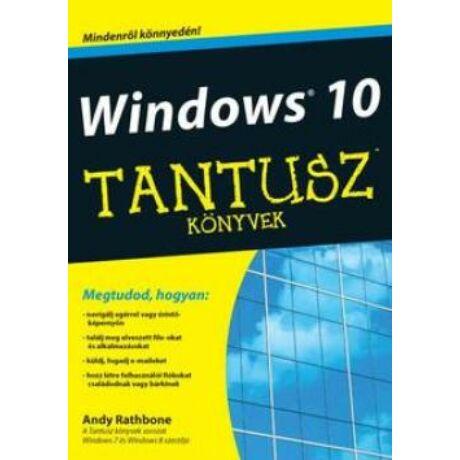 TANTUSZ KÖNYVEK - WINDOWS 10