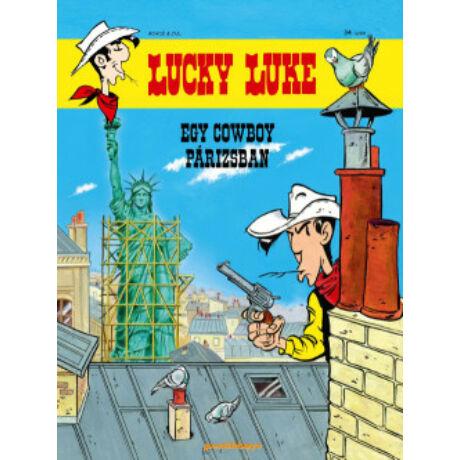 LUCKY LUKE 34. - EGY COWBOY PÁRIZSBAN
