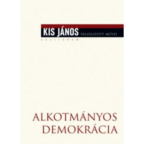 ALKOTMÁNYOS DEMOKRÁCIA