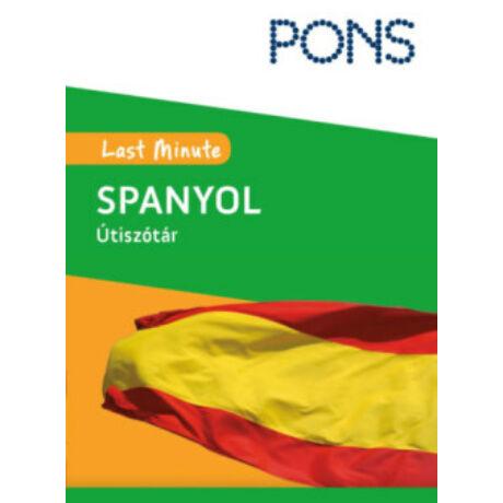 PONS - LAST MINUTE ÚTISZÓTÁR - SPANYOL